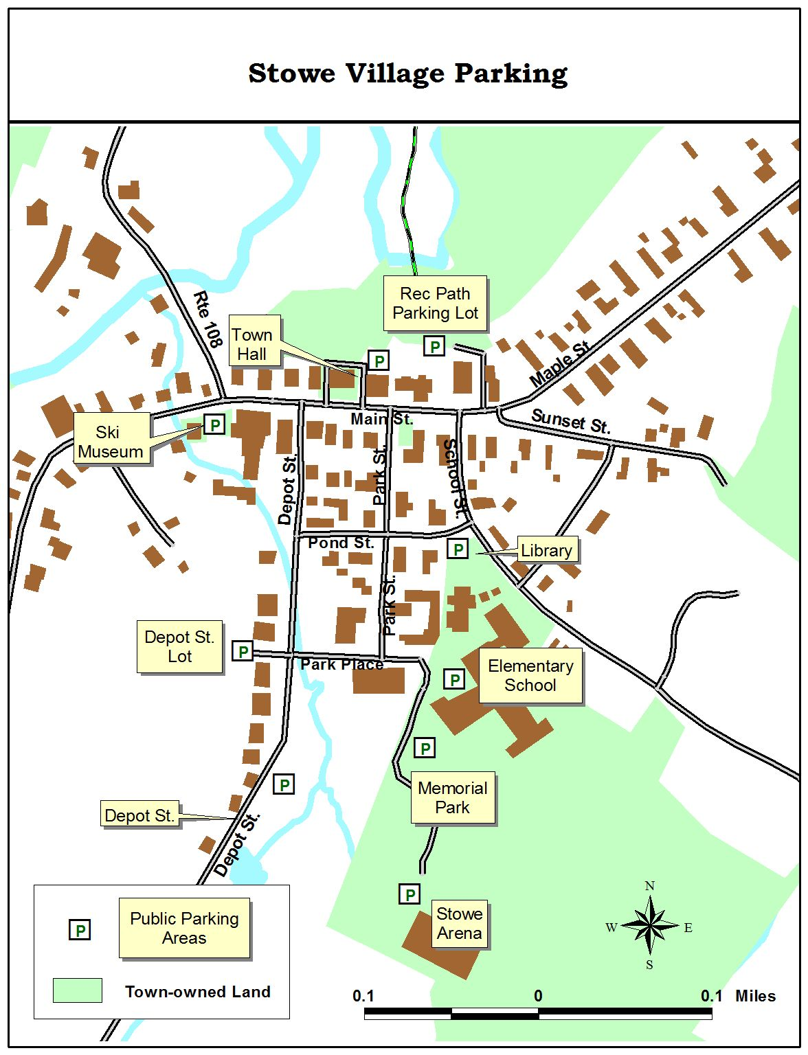 Official Website Of The Town Of Stowe Vermont - Vermont political map